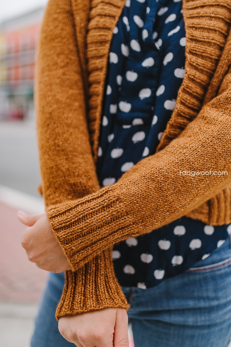 Firefly Cardigan sleeves