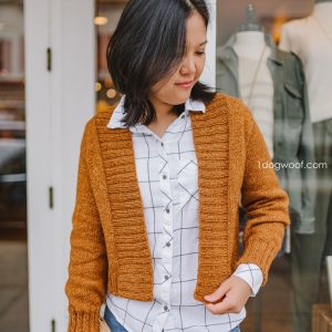 Firefly cardigan knitting pattern