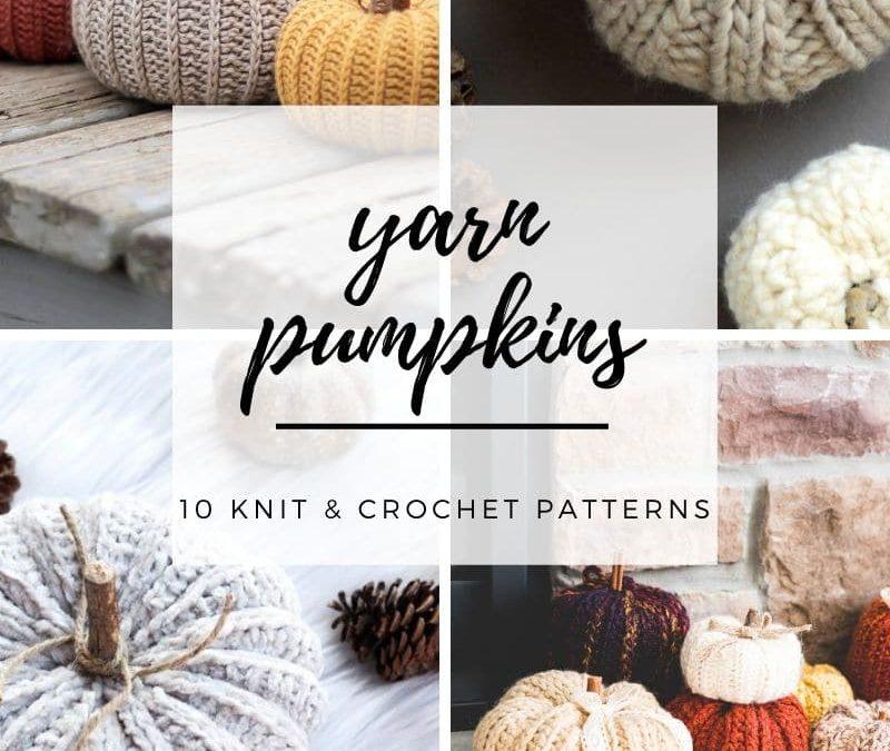 Knit and Crochet Pumpkin Patterns: A Falll Pumpkin Patch