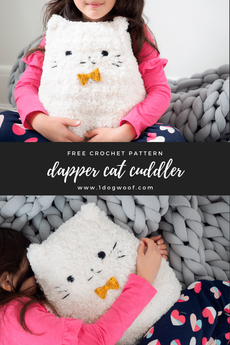 dapper cat cuddler vertical pin