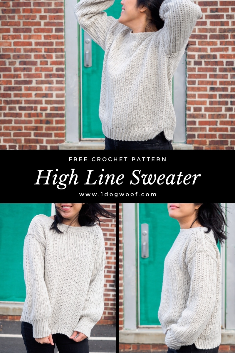 High Line Sweater vertical collage