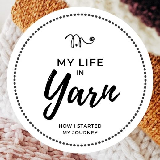 the story of how I started my crochet journey
