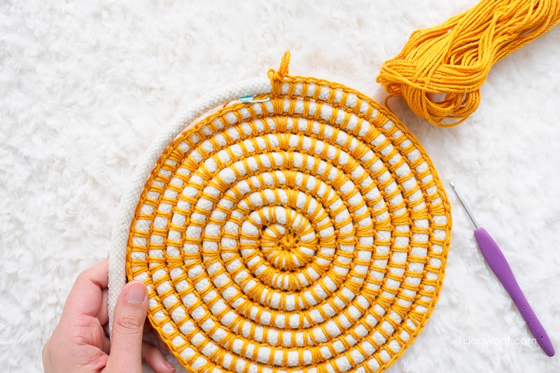 base of coil basket