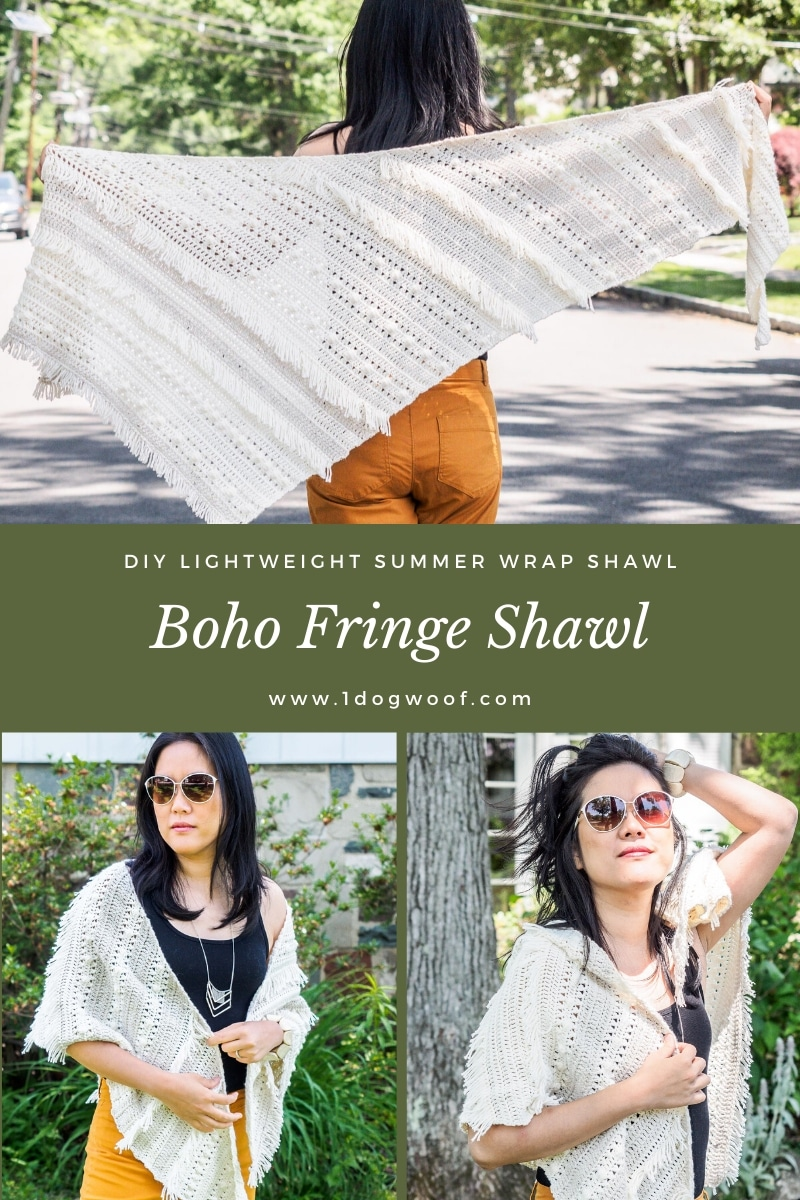 diy boho summer wrap collage pin