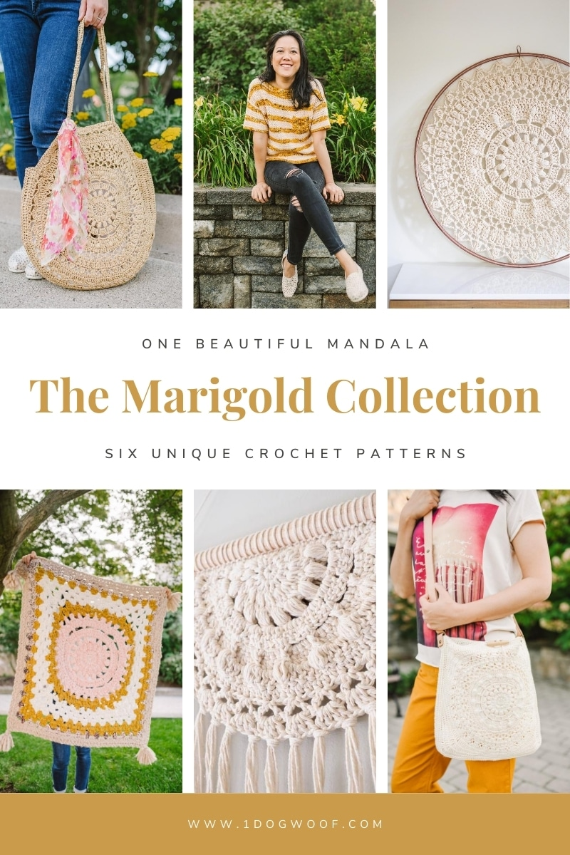 Marigold collection 6 crochet patterns