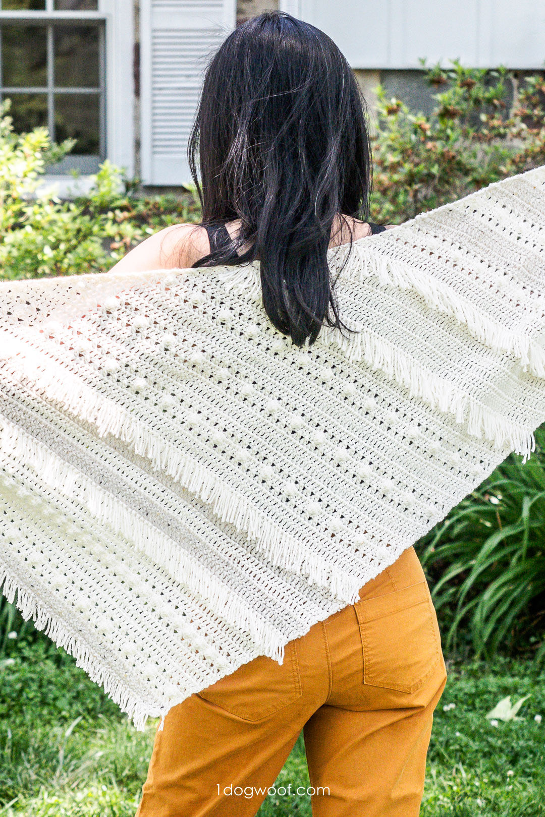 Boho Fringe Shawl: Summer Dreaming