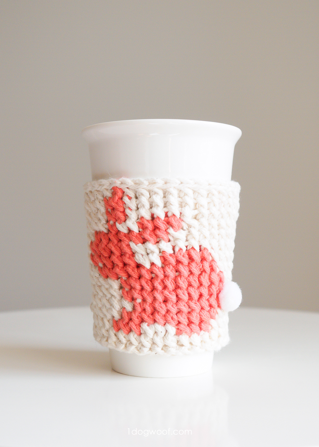 Bunny Cup Cozy Easter Crochet Pattern