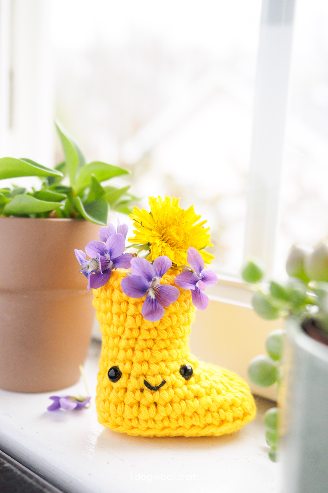 Crochet Rain Boot Amigurumi
