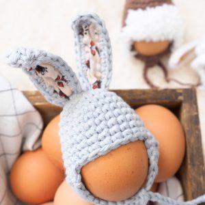 Easter Egg Bunny Hat Crochet Pattern