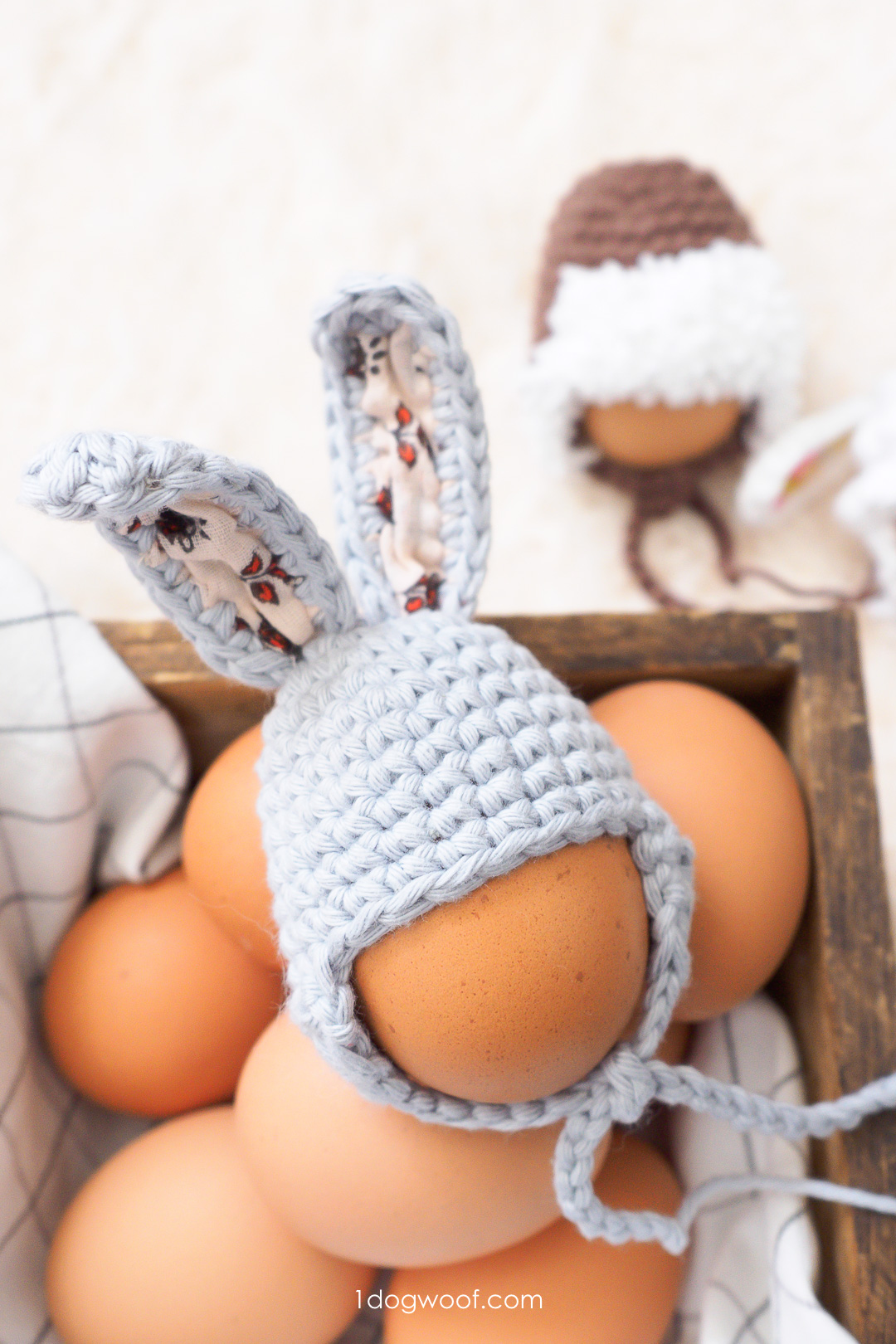 Easter Egg Bunny Hat Crochet Pattern