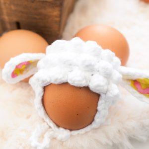 Easter Egg Lamb Hat Crochet Pattern