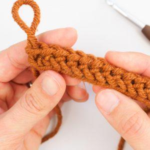 How to Make a Foundation Single Crochet Stitch (FSC)