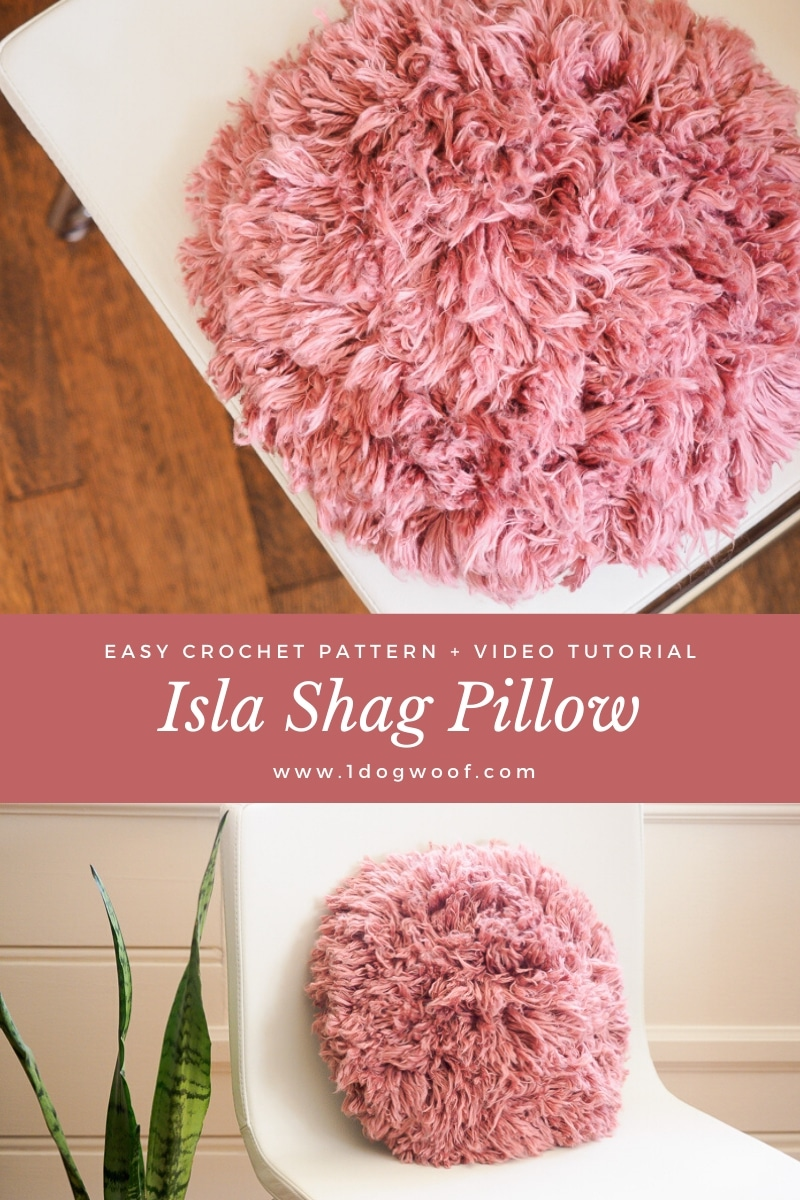 isla shag pillow 2 image pin