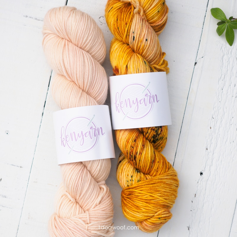 Kenyarn exclusive colorways for Marigold Collection