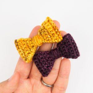 Mini Crochet Bowtie: Dress Up Time!