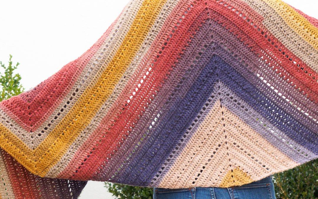 The Adirondack Wrap Crochet Pattern