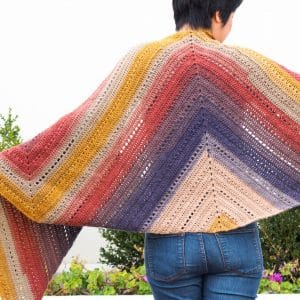 The Adirondack Wrap Crochet Pattern