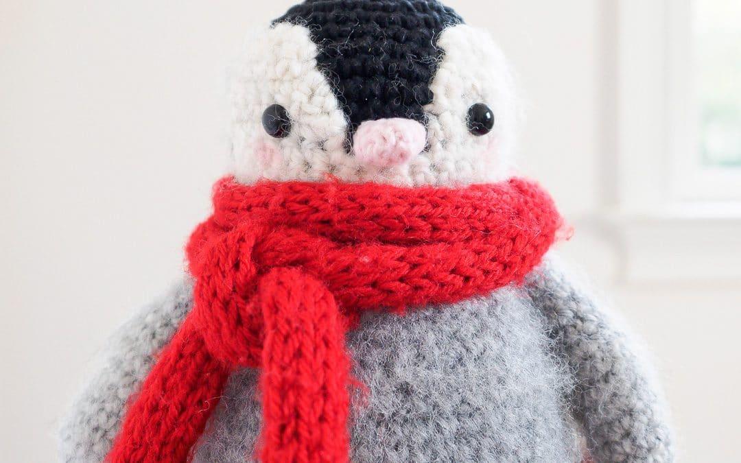 Baby Penguin Amigurumi Toy Crochet Pattern