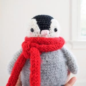 Baby Penguin Amigurumi Toy Crochet Pattern