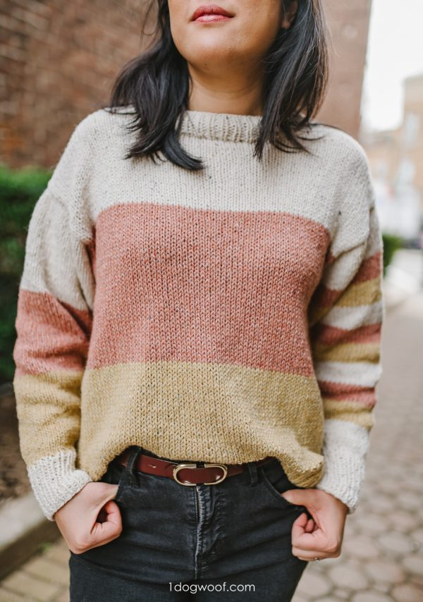 block party sweater knitting pattern