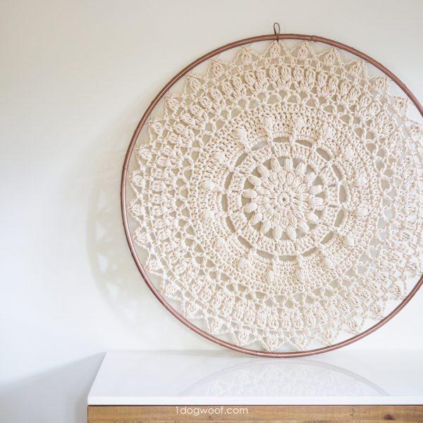 bloom mandala crochet pattern