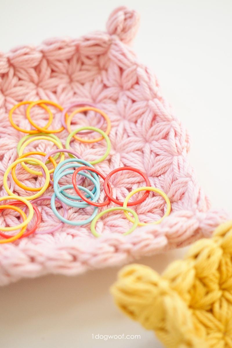 pink jewelry dish