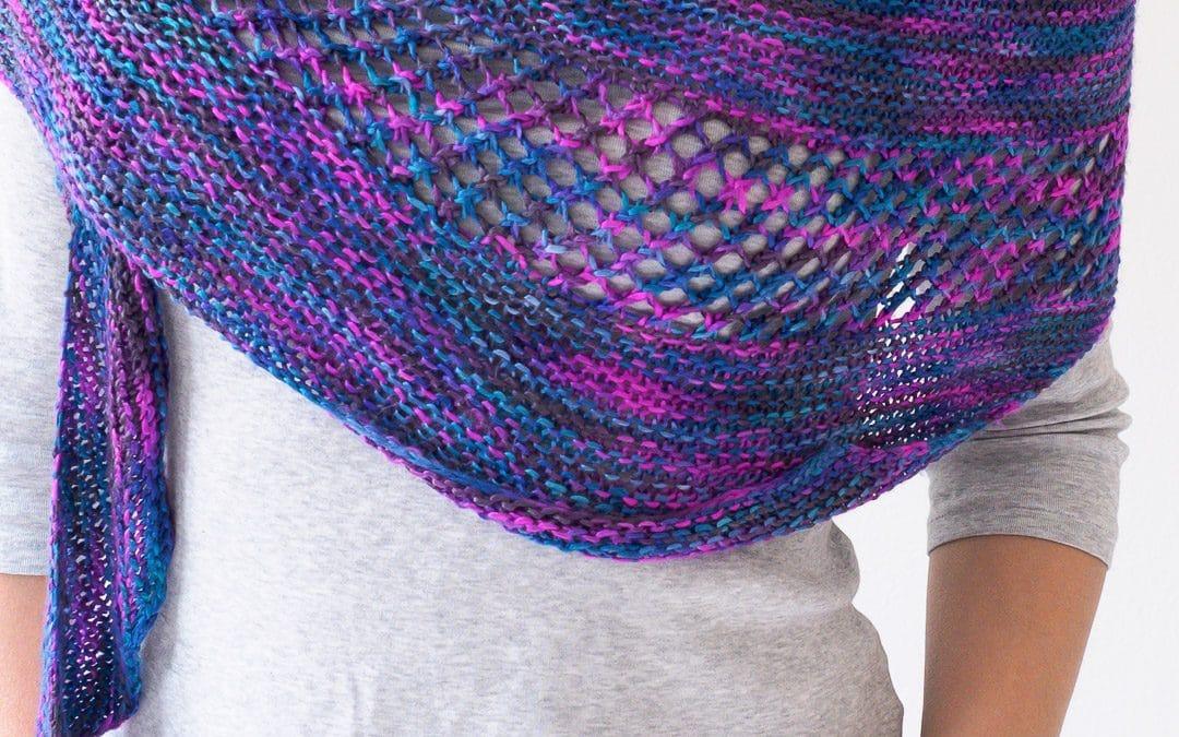 New Paths Shawl Free Knitting Pattern