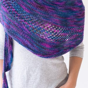 New Paths Shawl Free Knitting Pattern