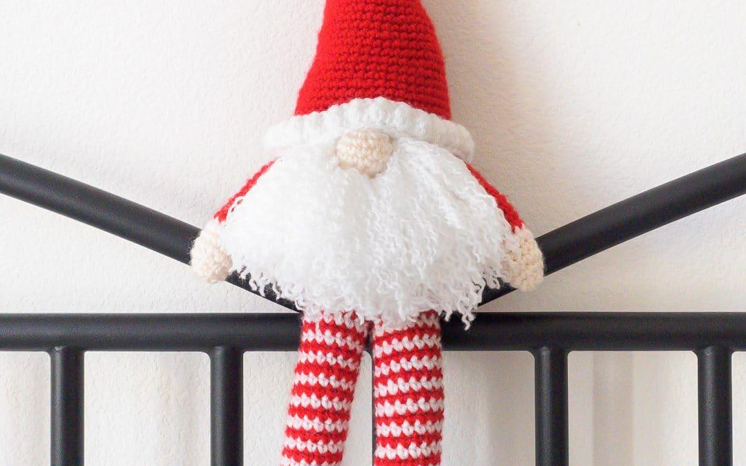 Scandinavian Santa Gnome Amigurumi