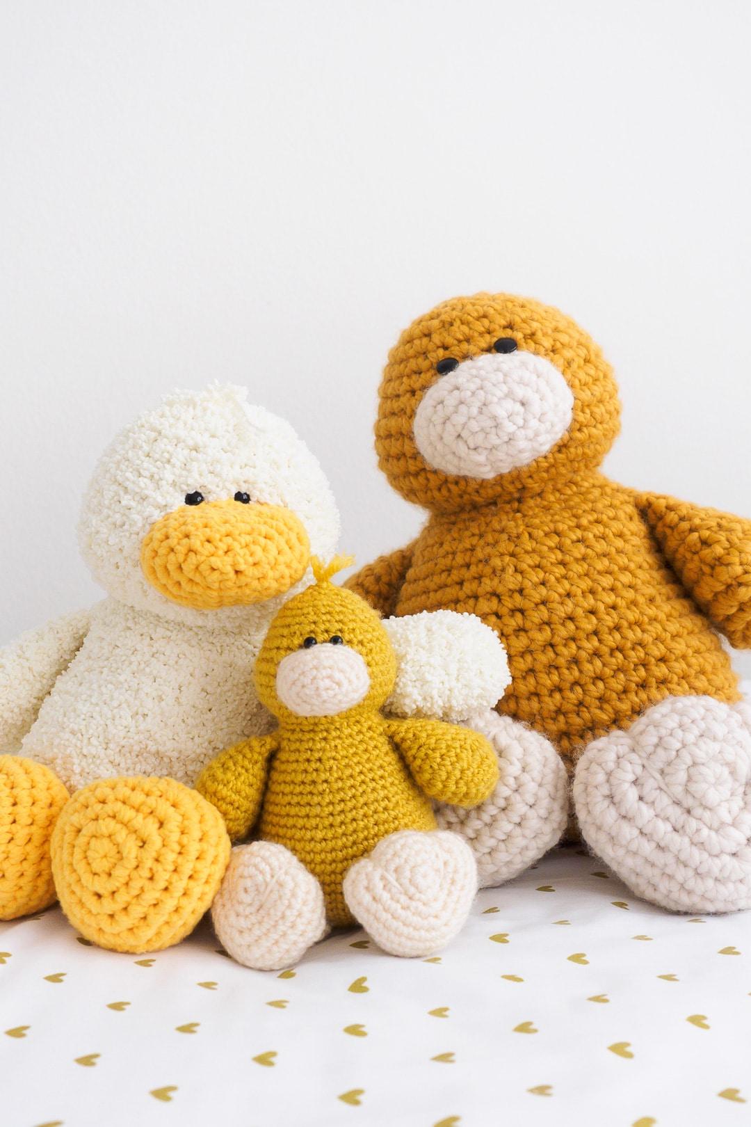 Stanley Duck Amigurumi Crochet Pattern