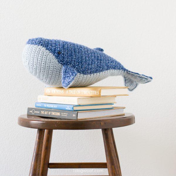humpback whale crochet whale pattern