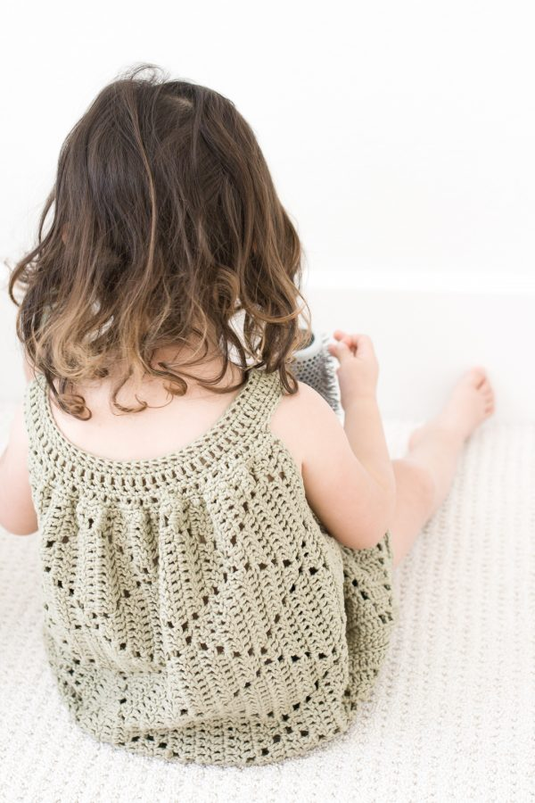 crochet toddler dress pattern