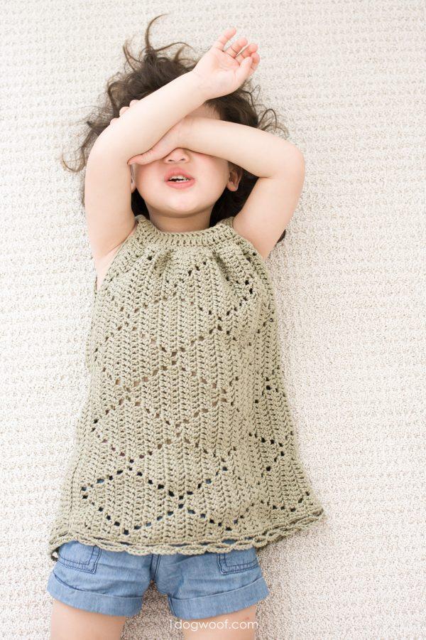 playful toddler dress crochet pattern