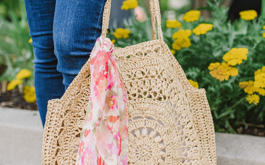 How to Crochet with Raffia