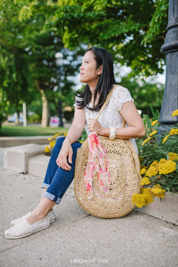 crochet circle bag pattern