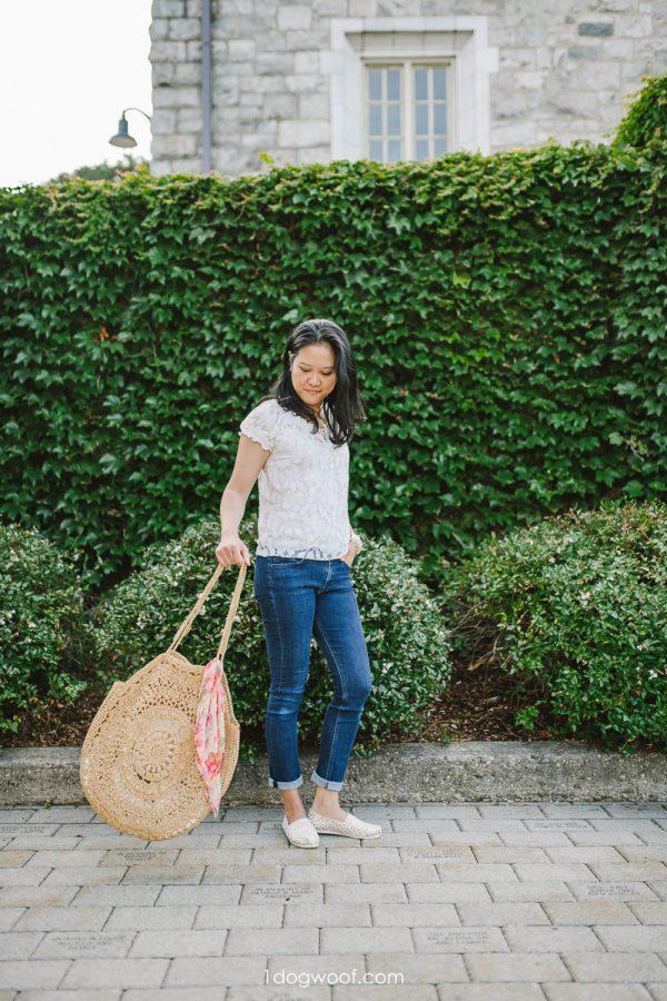 swinging the sunburst circle bag