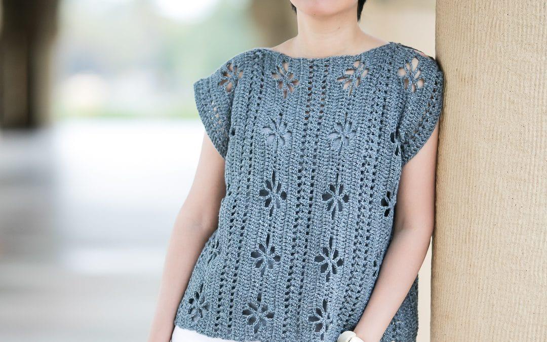 Wildflowers Tunic Crochet Pattern