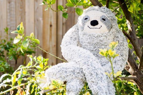 large knit sloth