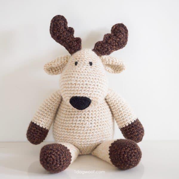 plush reindeer moose