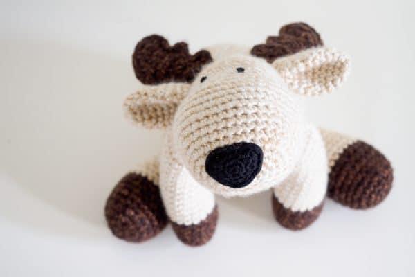 reindeer moose stuffie