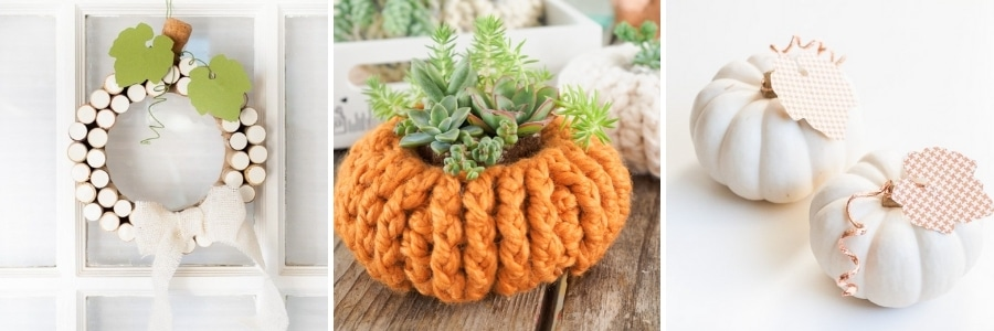 crafted pumpkins for fall