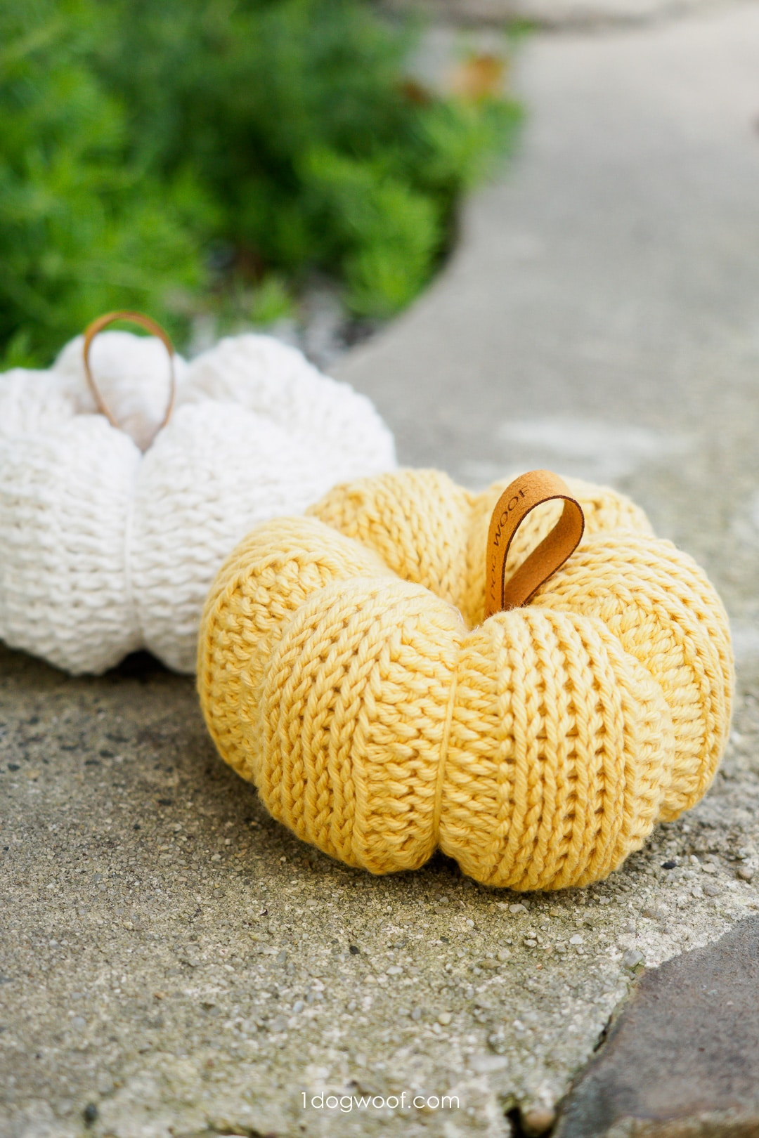 Tunisian Crochet Pumpkin