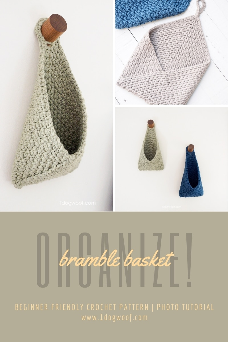 bramble hanging basket crochet pattern