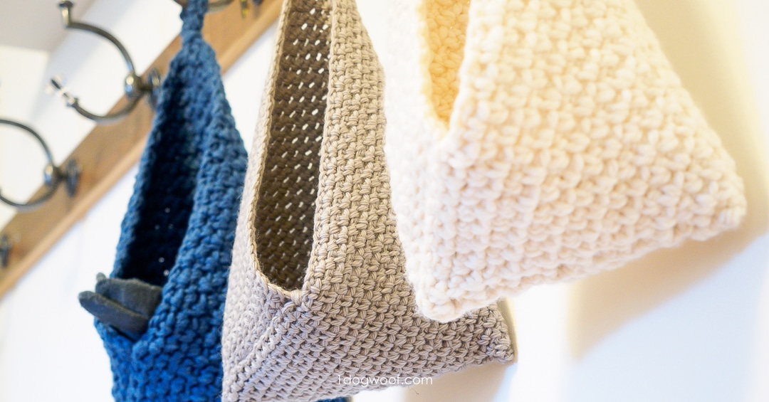 hanging basket crochet pattern