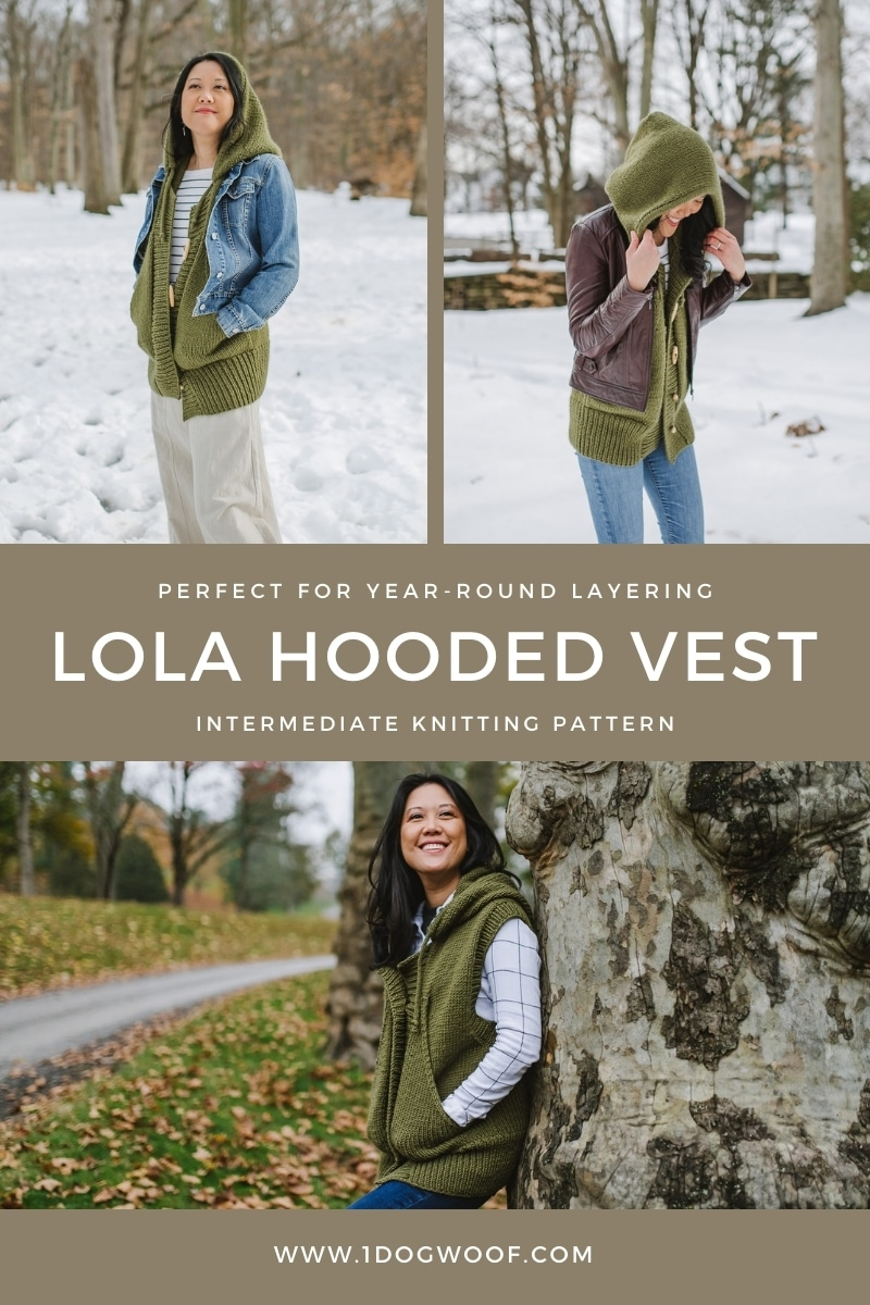ways to layer a hooded vest