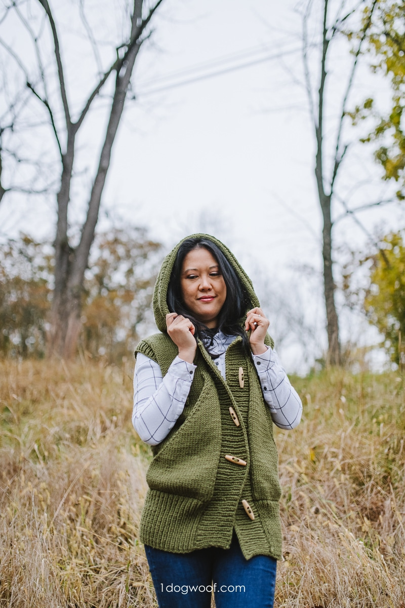 Lola Hooded Vest: Built for Comfort, and Quarantine