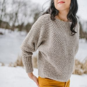 Plume Sweater: A Batwing Pullover For All Seasons